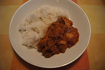 Khoresht - e- Bademjan   -   Lammfleisch mit Auberginen 6