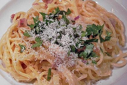 Spaghetti Carbonara, spezial