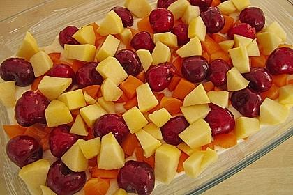 Grieß-Quark-Auflauf mit Obst 14