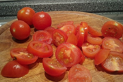Focaccia mit Tomaten und Rosmarin 92