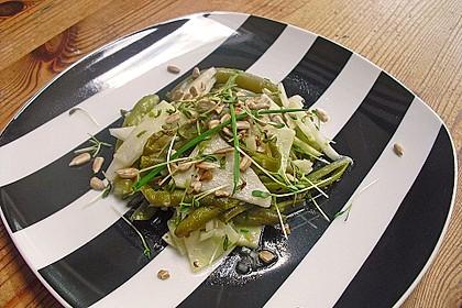 Bohnen-Kohlrabi-Salat