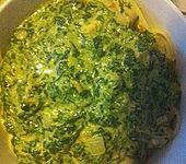 Lachs-Spinat-Spaghetti (Bild)