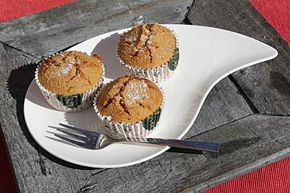 Saftige Polenta-Cranberry-Muffins