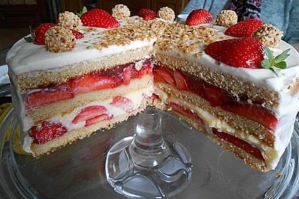 Erdbeer-Vanille-Pudding-Doppeldecker