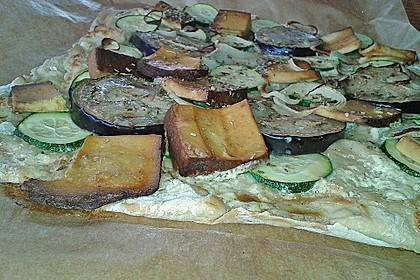 Veganer Flammkuchen 1