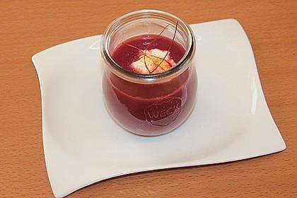 Rote Bete–Orangen-Suppe 4