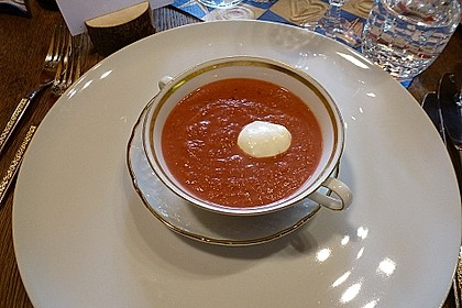 Rote Bete–Orangen-Suppe 5