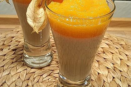 Zitronengras-Panna cotta mit Mangosauce 6