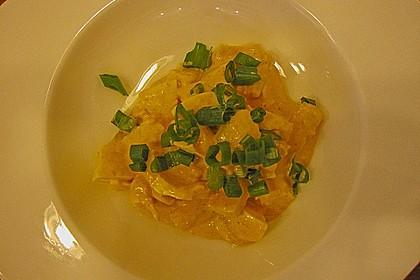 Eiersalat mit selbstgemachter Curry-Mayonnaise und Ananas 6