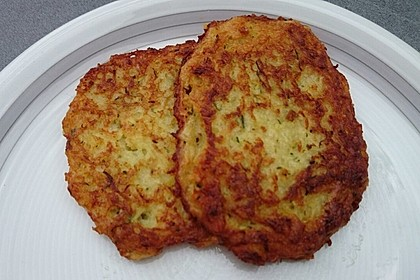 Koelkasts Zucchinipuffer (Bild)