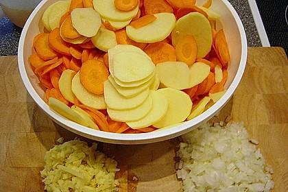 Karotten-Ingwer-Suppe 1