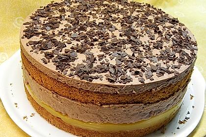 Orangen-Schokoladen Torte 2