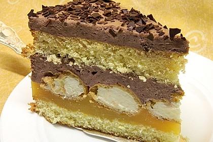 Orangen-Schokoladen Torte 1