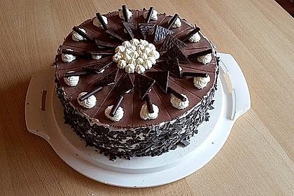 Orangen-Schokoladen Torte 4