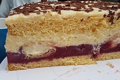 Orangen-Schokoladen Torte 7