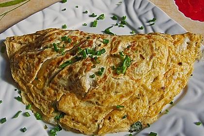 Omelette mit Pfifferlingen 4