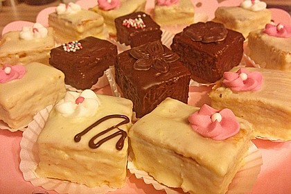 Baumkuchen-Petits Fours 12