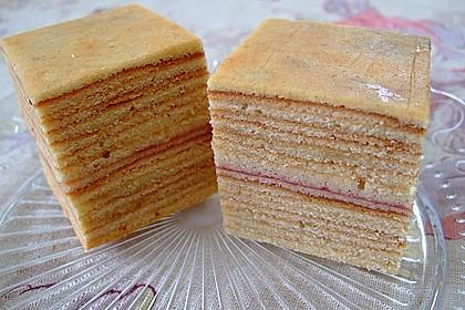 Baumkuchen-Petits Fours 5