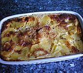 Kartoffelauflauf mit Zucchini
