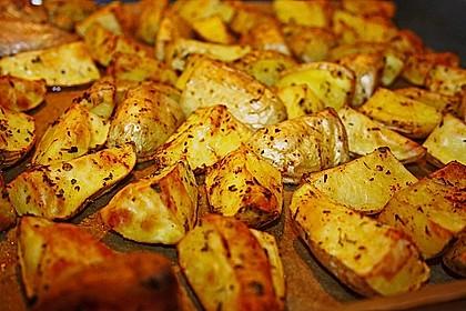 Kartoffelspalten mediterran, aus der Actifry oder aus dem Backofen 3