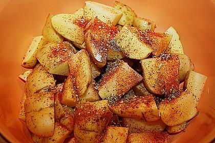 Kartoffelspalten mediterran, aus der Actifry oder aus dem Backofen 5