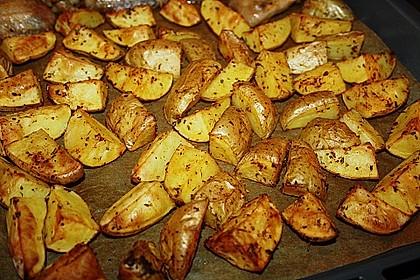 Kartoffelspalten mediterran, aus der Actifry oder aus dem Backofen 2