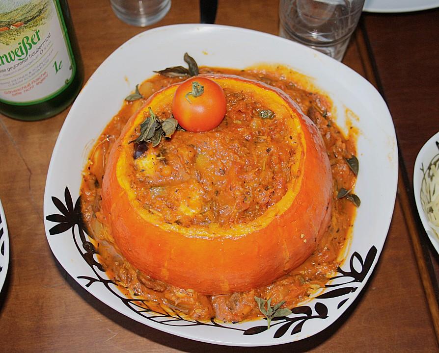 kürbis gebacken à la toscana (rezept mit bild) von monimichi2802 ... - Chefkoch De Kürbissuppe