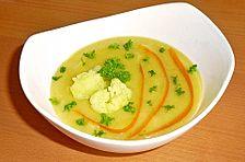 Blumenkohl-Kartoffelsuppe