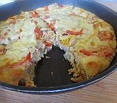 Würziger Kartoffel-Frittata-Snack