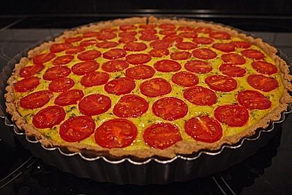 Vegane Tomaten-Quiche 6