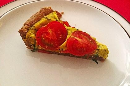 Vegane Tomaten-Quiche 35