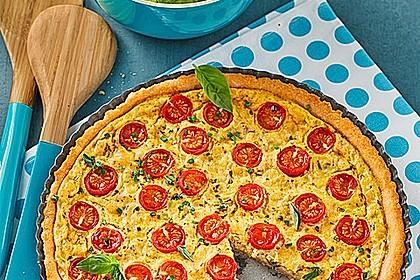 Vegane Tomaten-Quiche 1