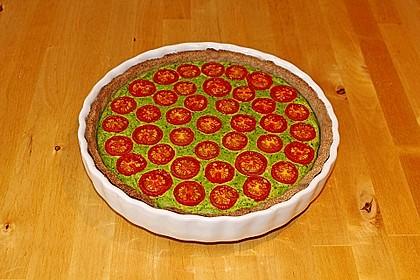 Vegane Tomaten-Quiche 7