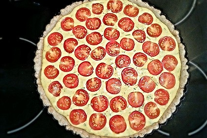Vegane Tomaten-Quiche 17