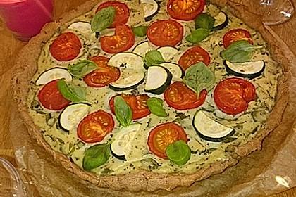 Vegane Tomaten-Quiche 18