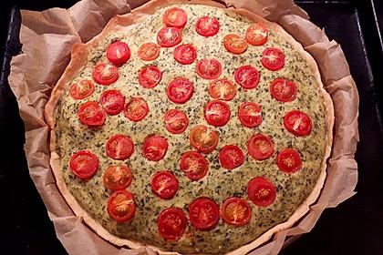 Vegane Tomaten-Quiche 10