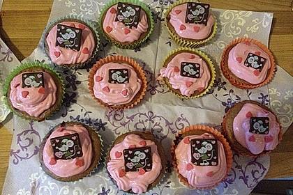 Himbeer-Heidelbeer Cupcakes