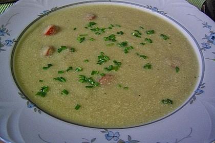 Sellerie-Kartoffelsuppe mit Shrimps 13