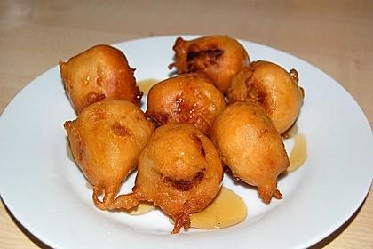 Gebackene Banane mit Honig 17