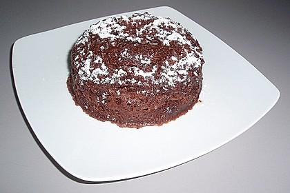 5 Minuten Schokoladenkuchen in der Tasse