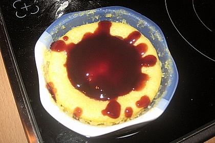 5 Minuten Schokoladenkuchen in der Tasse 6