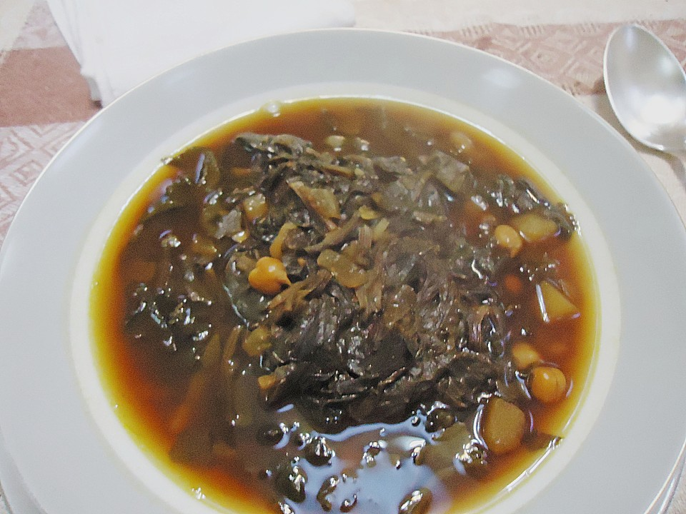 Armenische Sauerampfersuppe Mit Kichererbsen (Rezept Mit Bild