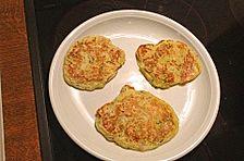 Zucchini-Schinken-Pfannkuchen für kleine Feinschmecker