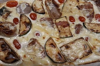 Schweinefilet mit Zucchini in Gorgonzola-Sahne-Sauce 6