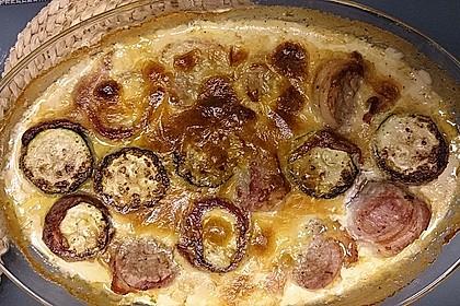 Schweinefilet mit Zucchini in Gorgonzola-Sahne-Sauce 10