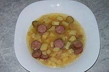 Schlesische Kartoffelsuppe