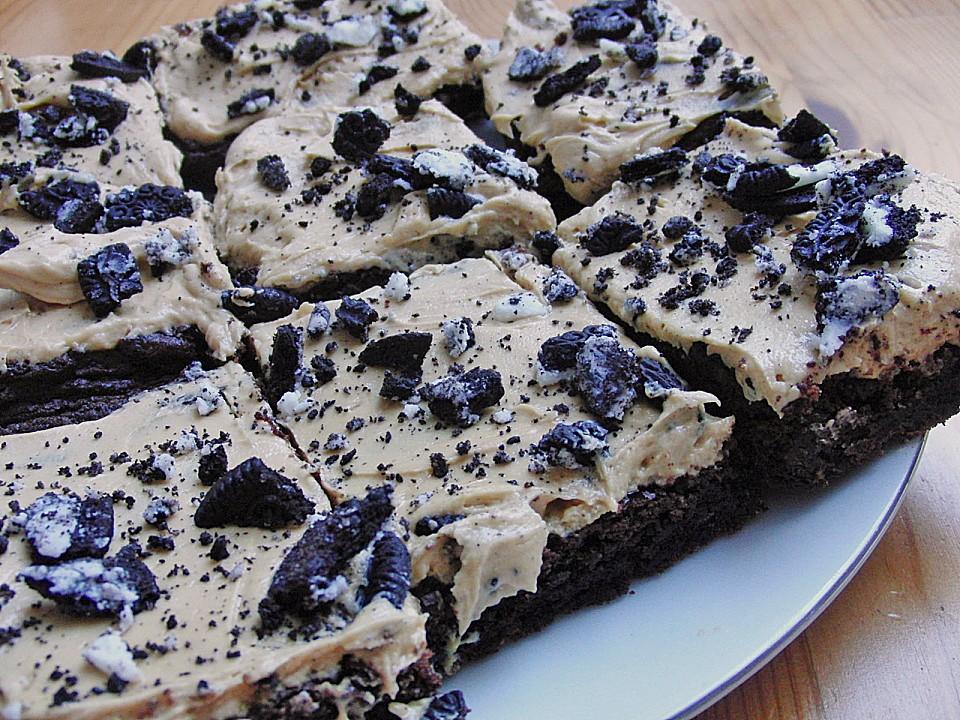 erdnussbutter oreo brownies rezept mit bild von cab2cr. Black Bedroom Furniture Sets. Home Design Ideas