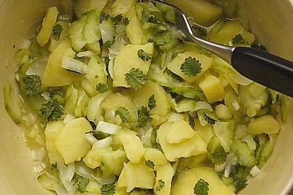 Wiesenknopf-Kartoffelsalat 1