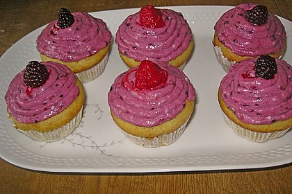 Waldfrucht-Cupcakes 3