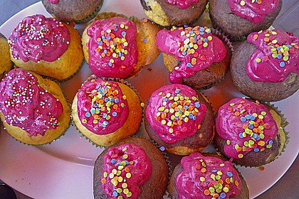 Waldfrucht-Cupcakes 1